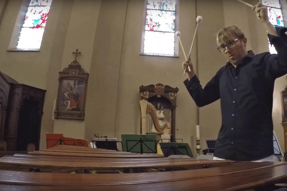 Sven Kiefer Agnus Dei for Choir und Marimba